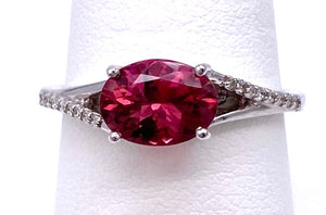 Pink Tourmaline and Diamond Ring C368R589842