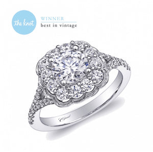 Coast Diamond Bridal Engagement Ring A038LC6026