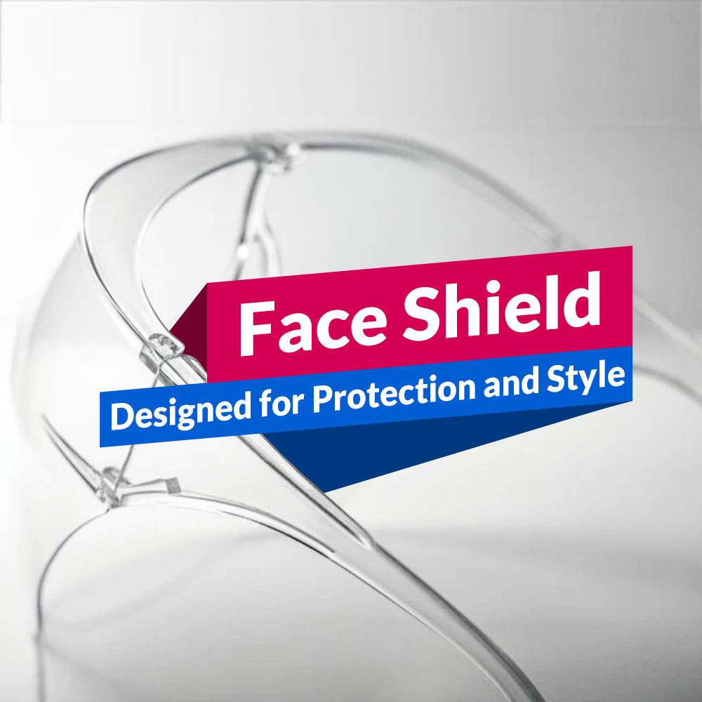 Face Shield - Designed For Protection And Style
