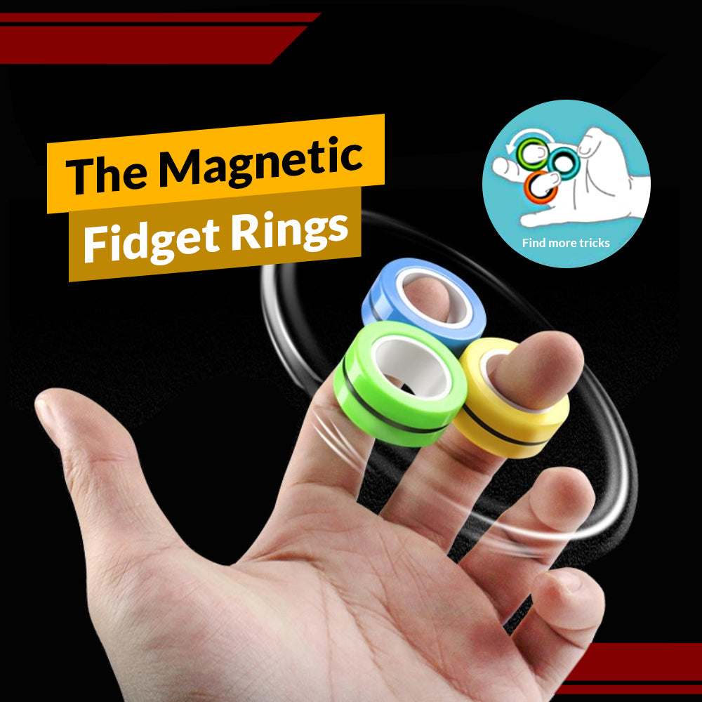 The Magnetic Fidget Rings