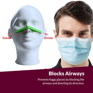Anti-Fog Mask Nose Bridge