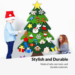 DIY Felt Tree & Ornaments Bundle