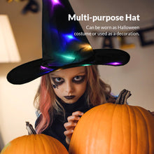 Load image into Gallery viewer, Glowing Hanging Witch Hat - Fall Sale!