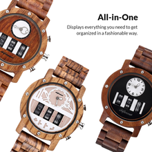 Load image into Gallery viewer, The Wooden Wristwatch