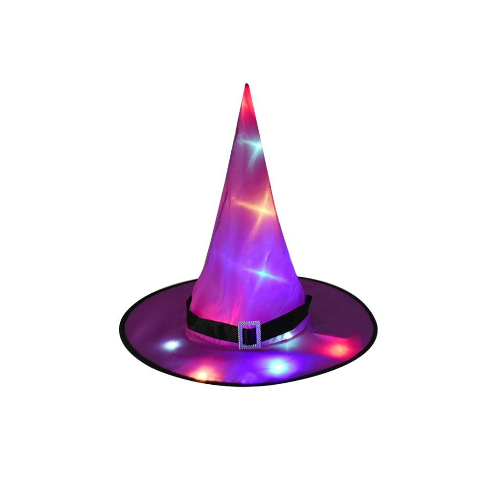 Glowing Hanging Witch Hat - Fall Sale!
