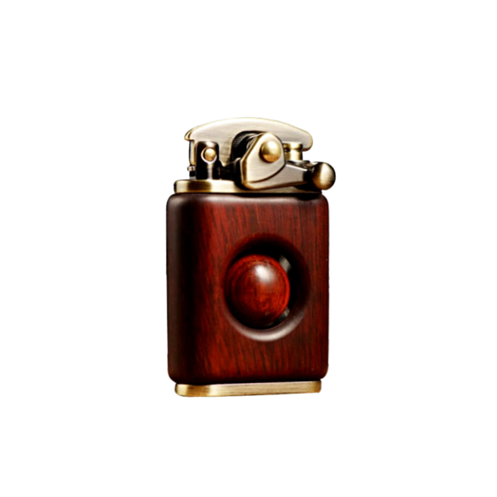 Rosewood Handmade Custom Windproof Kerosene Bead Lighter