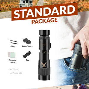 300x40mm Telescope Monocular Phone Attachment -【70% OFF CYBER WEEK SALE】