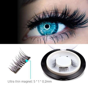 Magnetic Eyelashes + Eyeliner