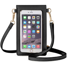 Load image into Gallery viewer, The Ultimate Touchscreen Leather Phone Bag