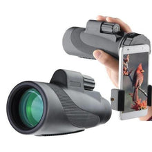 Load image into Gallery viewer, Waterproof 40x60 HD Monocular Phone Attachment