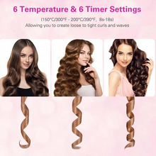 Load image into Gallery viewer, Auto Rotating Ceramic Hair Curler