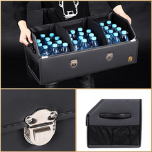 Load image into Gallery viewer, Universal Leather Trunk Organizer