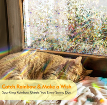 Load image into Gallery viewer, 3D Rainbow Window Film - Limited Time Sale- 50% OFF