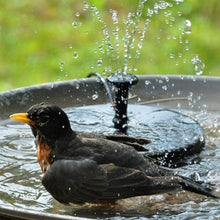 Load image into Gallery viewer, Solar Bird Fountain