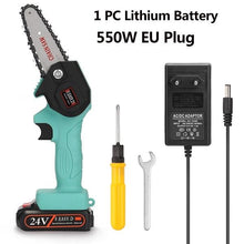 Load image into Gallery viewer, (Christmas Pre-Sale 50% OFF) - Rechargeable MINI  lithium chainsaw