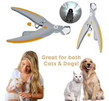 Load image into Gallery viewer, LED LIGHT PET NAIL CLIPPER