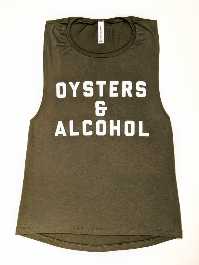Oysters & Alcohol Tank