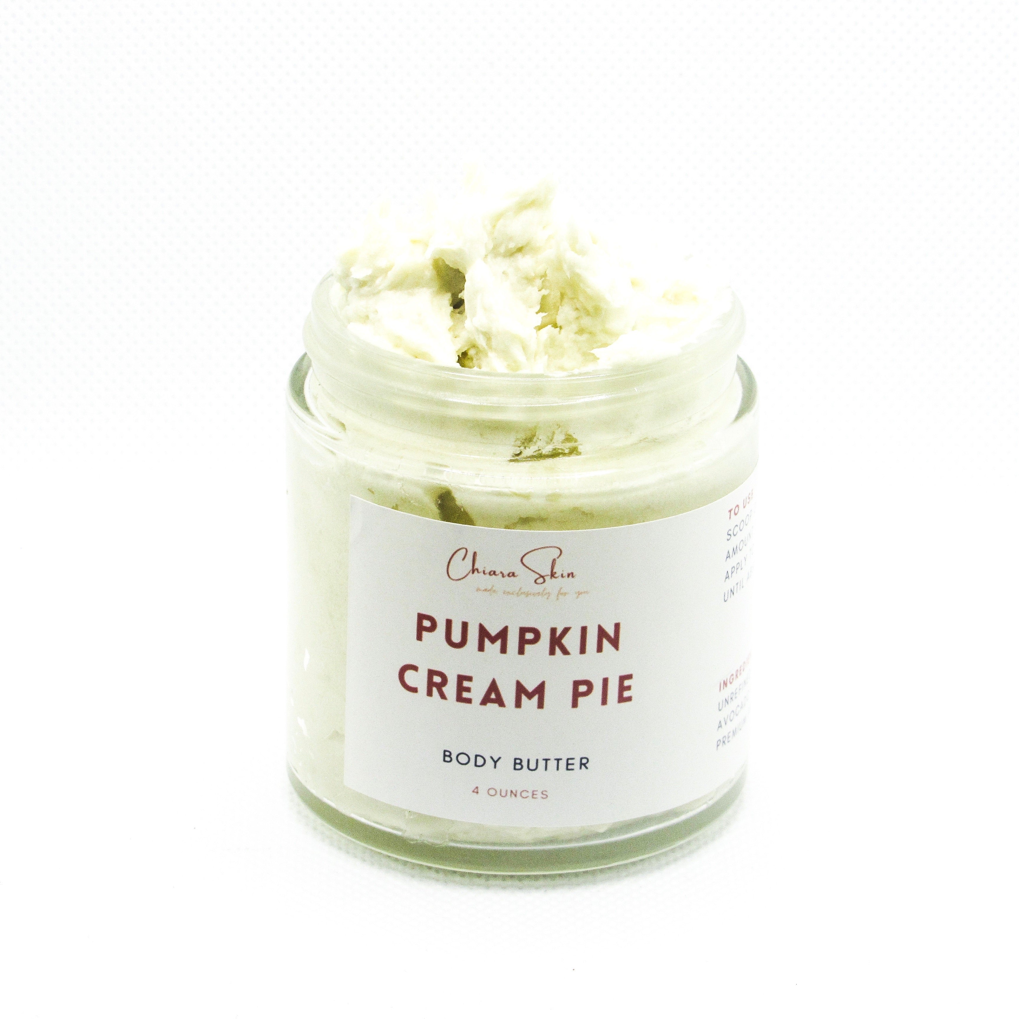 Pumpkin Cream Pie Body Butter