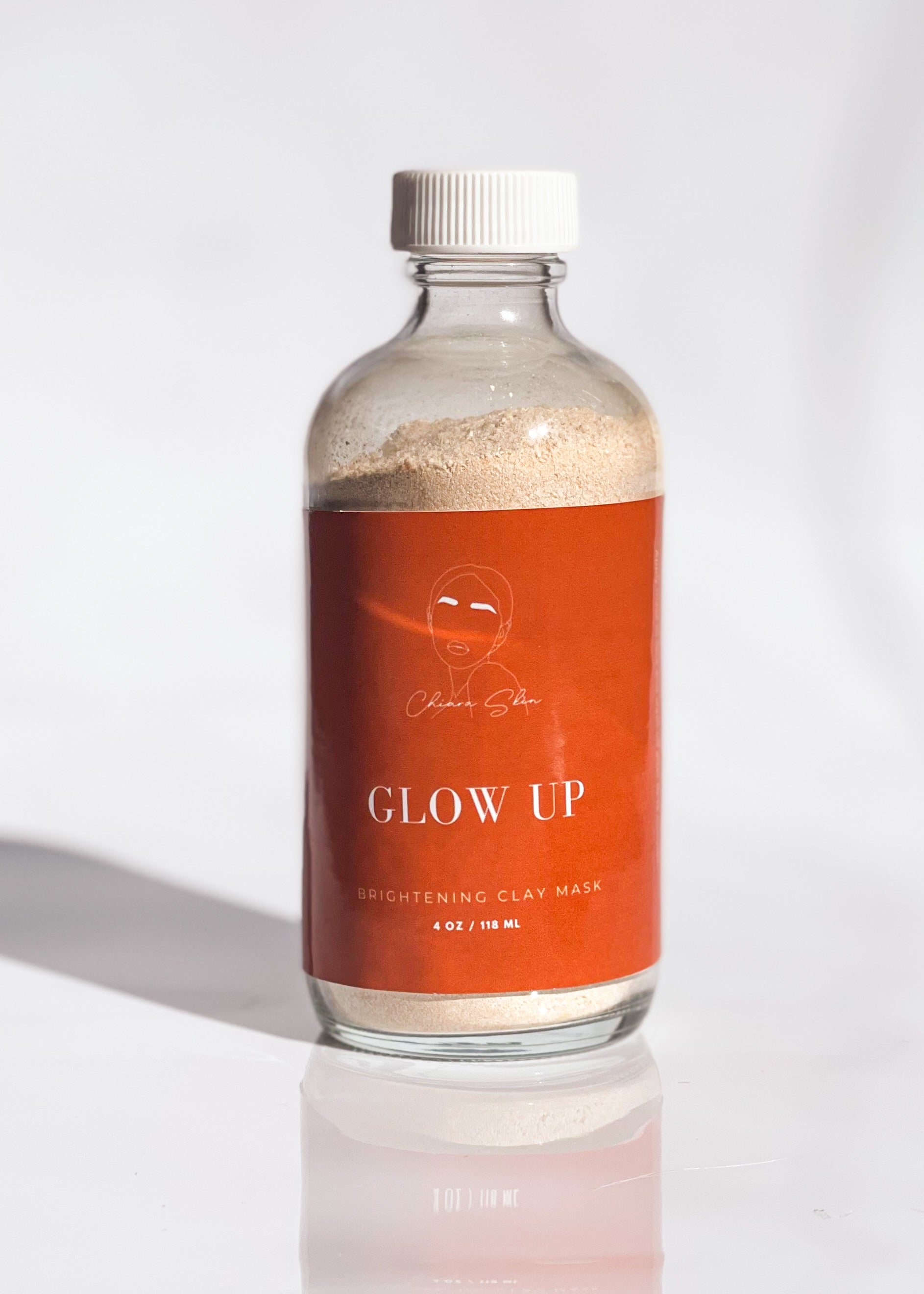 GLOW UP 〰️ Powder Clay Mask