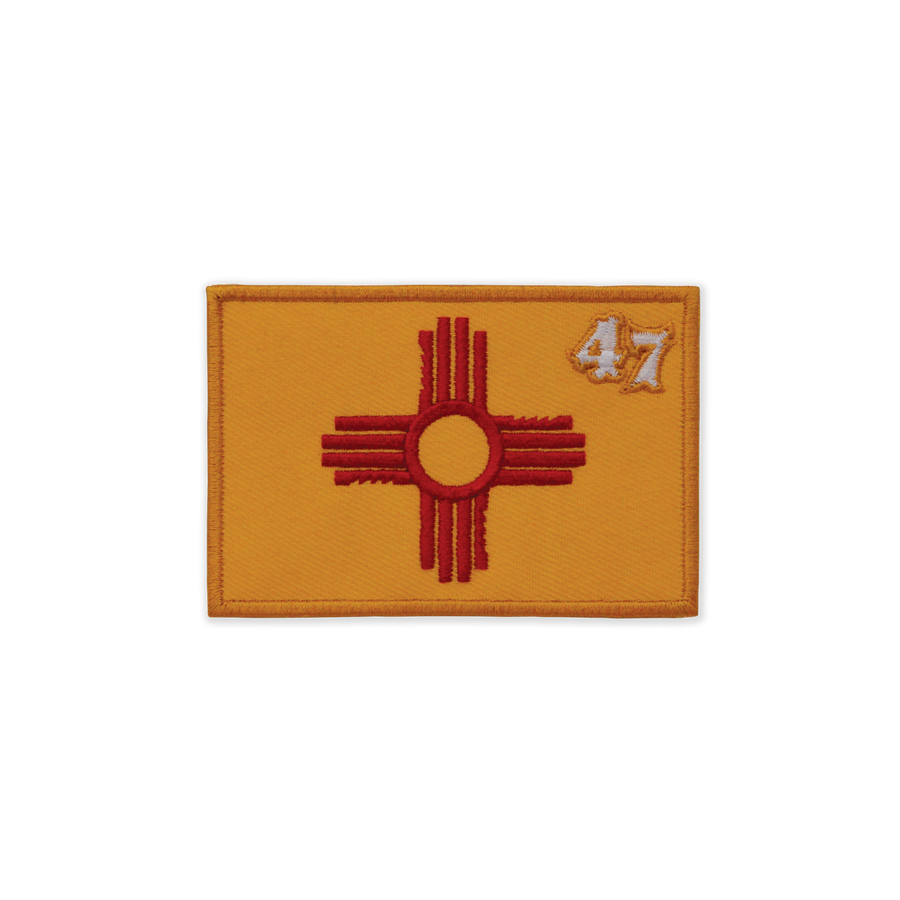 New Mexico Flag Patch