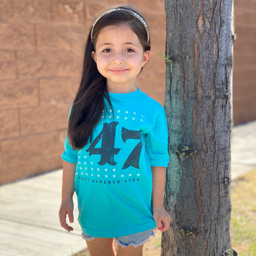 47th Star New Mexico T-Shirt Kids