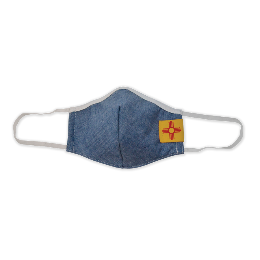 Zia Face Mask Chambray
