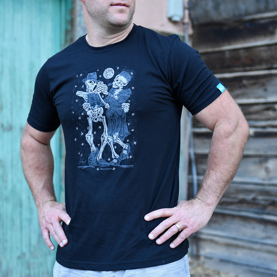 Moon Dance Skeleton T-Shirt