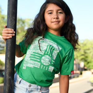 State Zia New Mexico T-Shirt Kids