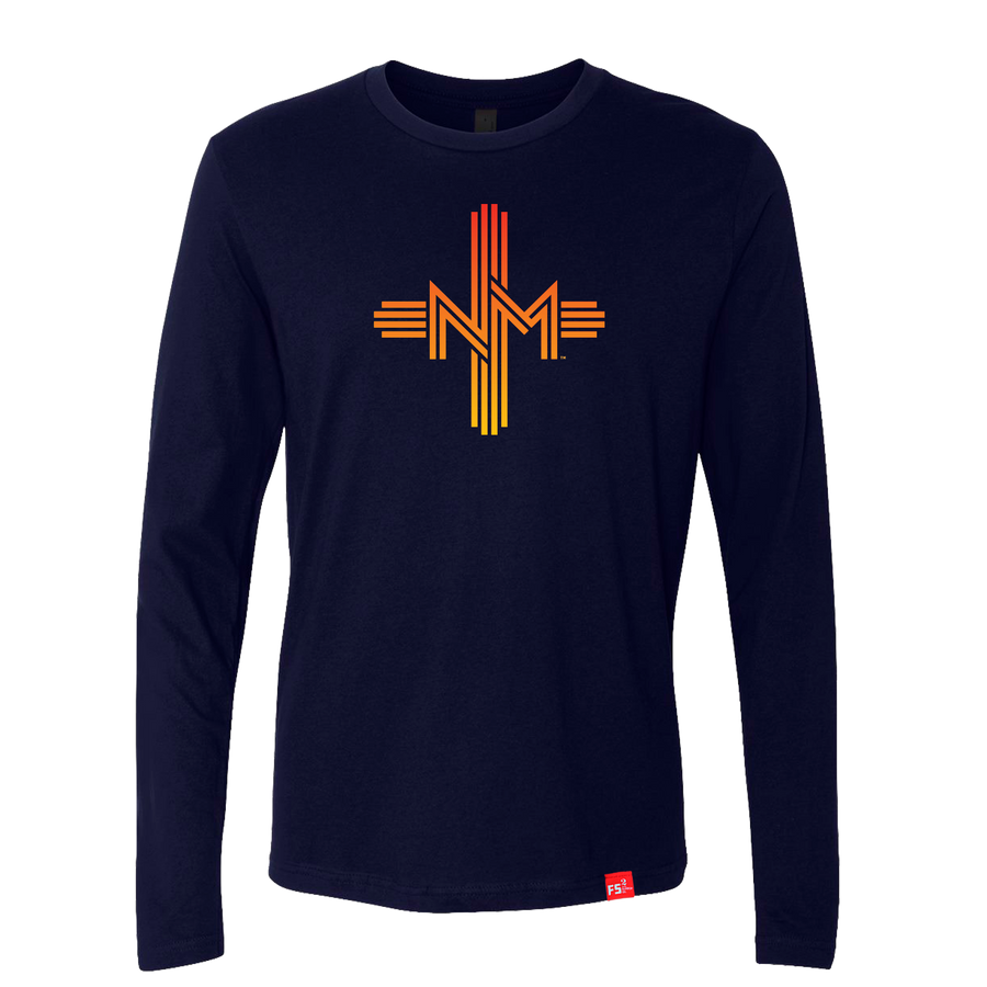 Sunset New Mexico Zia T-Shirt LS