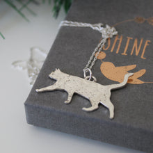 Load image into Gallery viewer, Constellation Cat Necklace in Sterling Silver - Shine On Shop