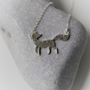 Constellation Fox Necklace in Sterling Silver - Shine On Shop