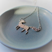 Load image into Gallery viewer, Constellation Fox Necklace in Sterling Silver - Shine On Shop