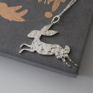 Constellation Hare Necklace in Sterling Silver - Shine On Shop