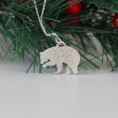 Constellation Bear Necklace in Sterling Silver - Shine On Shop