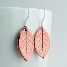 Load image into Gallery viewer, Copper Leaf Earrings - Shine On Shop