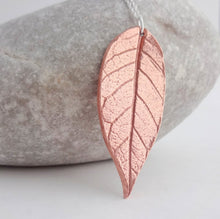 Load image into Gallery viewer, Copper Leaf Necklace - Shine On Shop