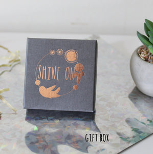 Copper Leaf Earrings - Shine On Shop