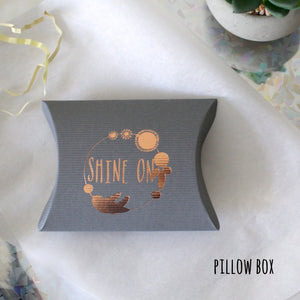 Pillow Box Packaging - Shine On