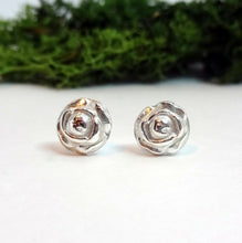 Load image into Gallery viewer, Dainty Sterling Silver Flower Studs - Shine On Shop