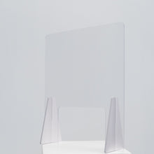 Load image into Gallery viewer, PVC Desk Shields - 500mm x 600mm