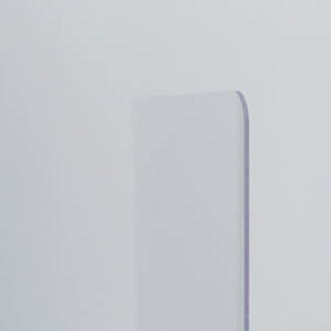 PVC Desk Shields - 500mm x 600mm