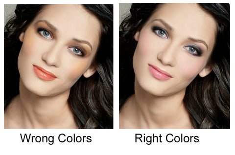 Wrong vs. Right Colors