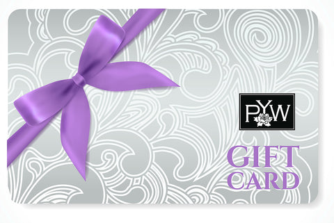 Pretty Your World Gift Cards