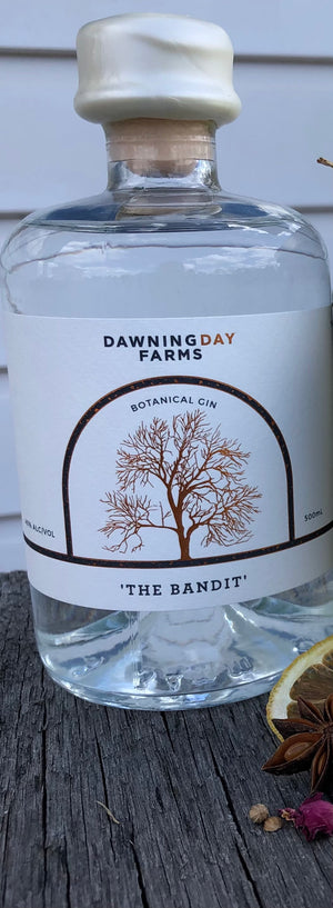 Load image into Gallery viewer, Dawning Day 'The Bandit' Gin 500ml