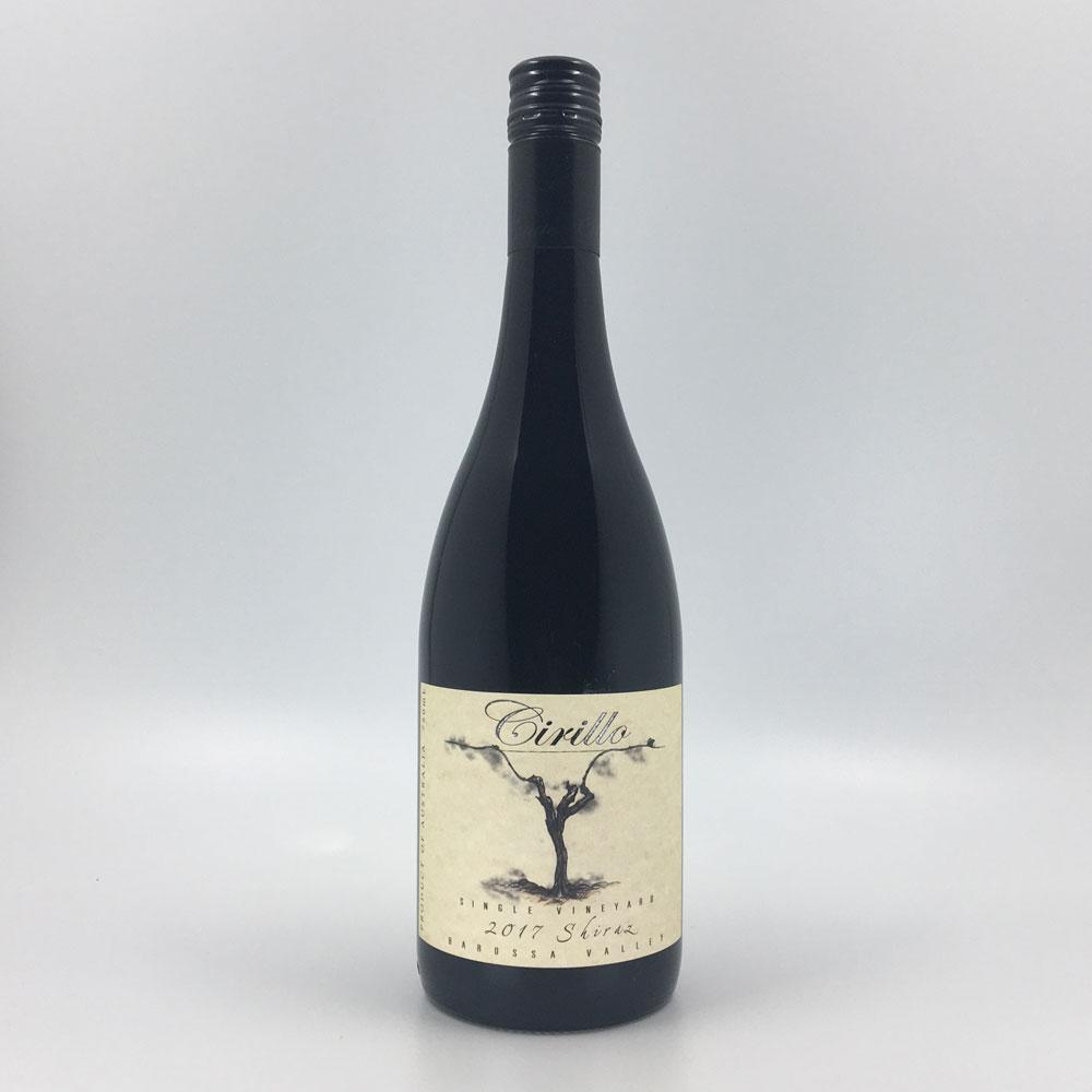 bottle of CIRILLO ESTATE SHIRAZ 2017 Red Wine Cultivate Local