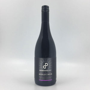 Load image into Gallery viewer, bottle of dawning day merlot noir 2016 red wine