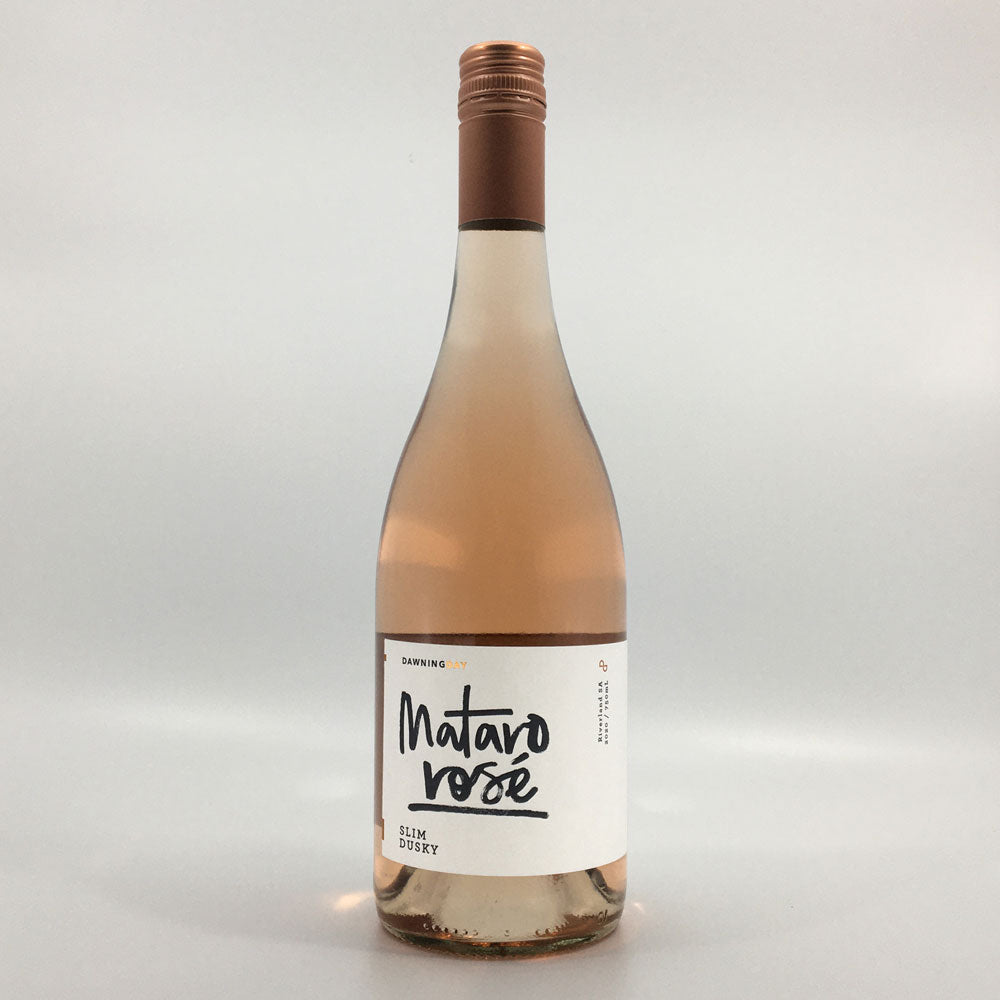Load image into Gallery viewer, dawning day slim dusky mataro rose 2020 rose wine