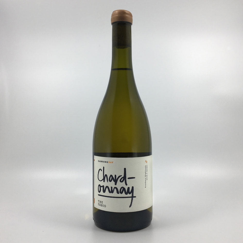 dawning day the fabio chardonnay 2018 white wine