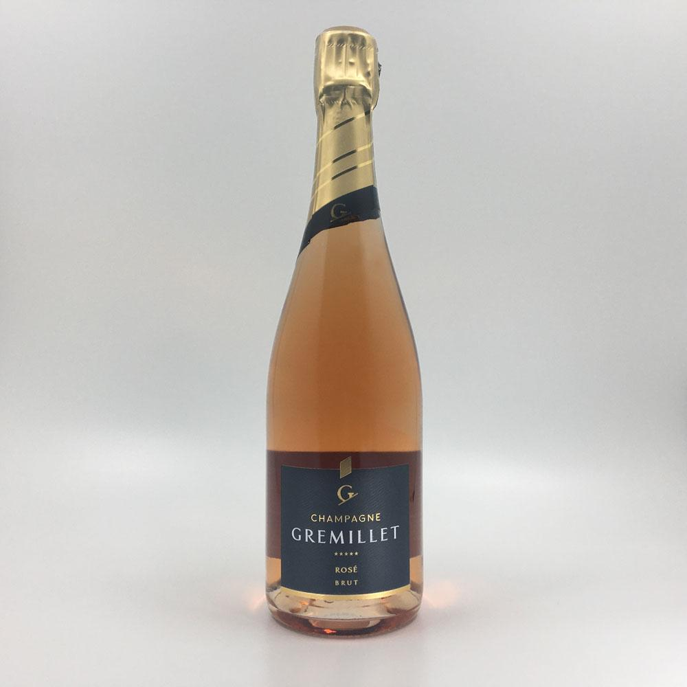 bottle of GREMILLET BRUT ROSE CHAMPAGNE Sparkling Cultivate Local