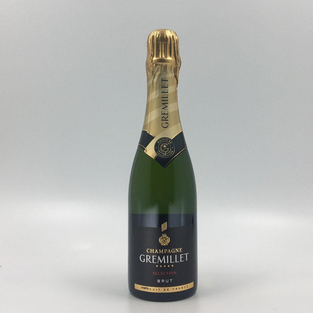 bottle of GREMILLET BRUT SELECTION CHAMPAGNE (375ml) Sparkling Cultivate Local